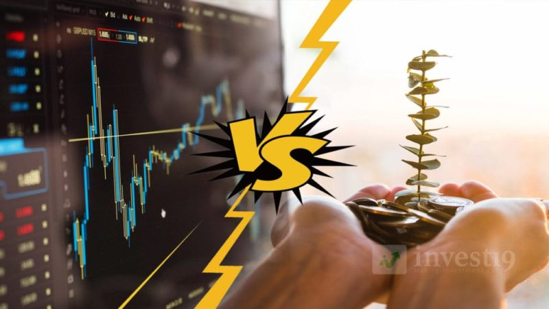 Stock Investing Vs Trading - Which is better